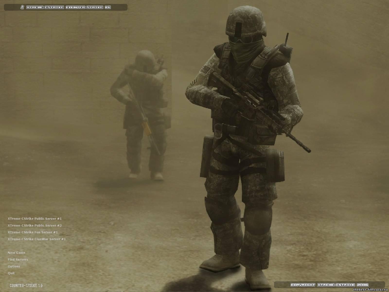 Скачать Counter-Strike 1.6 Final v31 for Kaz Net 2008 бесплатно и без